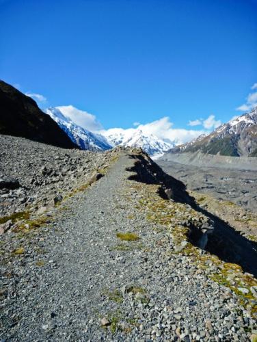 Tasman Glacier, Mt Cook (Aoraki) National Park, South Island