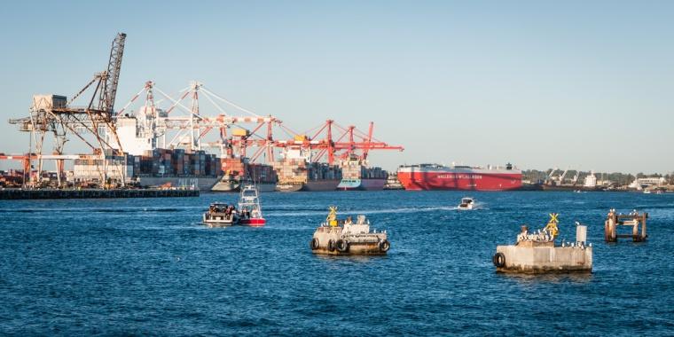 Fremantle Port, Perth, Western Australia
