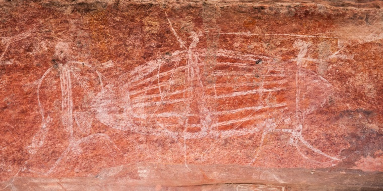 Aboriginal Aboriginal Rock Art at Ubirr, Kakadu National Park, Northern Territory