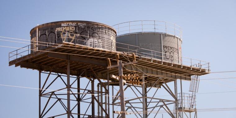 Rainwater Tanks, Cervantes, Western Australia