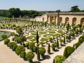 Gardens at the Estate of Versailles, France