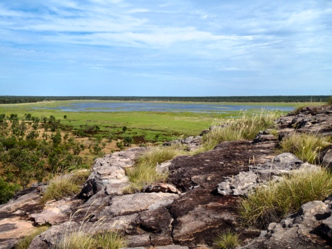Nardab Wetland Floodplains, Ubirr, Kakadu National Park, Northern Territory