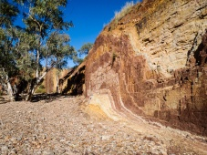 Ochre Pits, West MacDonnell Ranges, Alice Springs, Northern Territory