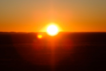 Sunrise over Alice Springs, Northern Territory