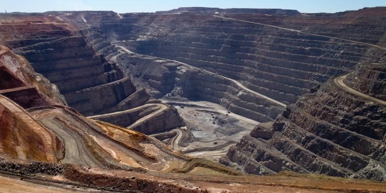 Super Pit. Kalgoorlie, Western Australia