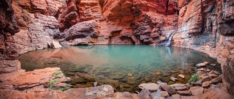 Handrail Pool, Weano Gorge, Karijini National Park, Western Australia
