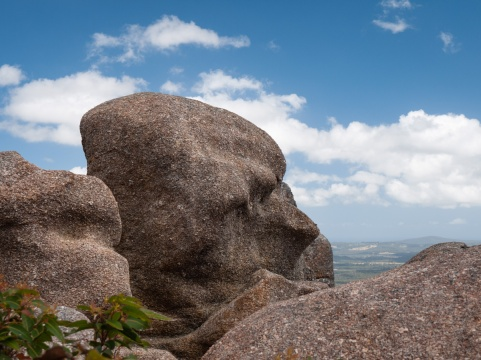 Wind sculpted granite outcrops of Mt Lindesay, Denmark
