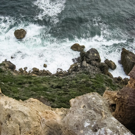 Rugged cliffs of Point D'Entrecasteaux, D'Entrecasteaux National Park