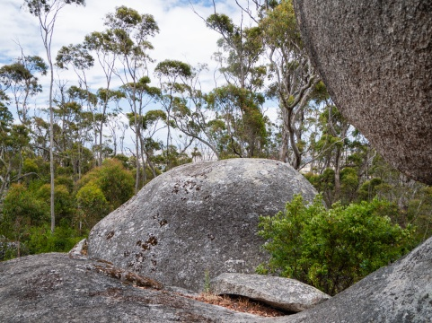 Granite Boulders, Castle Rock, Porongurup National Park