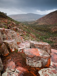 Organ Pipes, Gawler Ranges National Park, South Australia