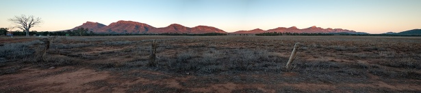 Sunrise over the Flinders Ranges, South Australia