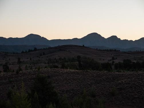 Sunset at the Flinders Ranges, South Australia