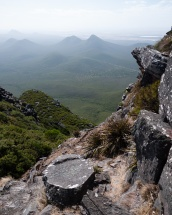 Near the Summit of Toolbrunup Peak, Stirling Range National Park