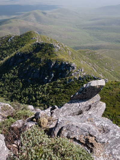 Surrounding Landscape, Toolbrunup Peak, Stirling Range National Park