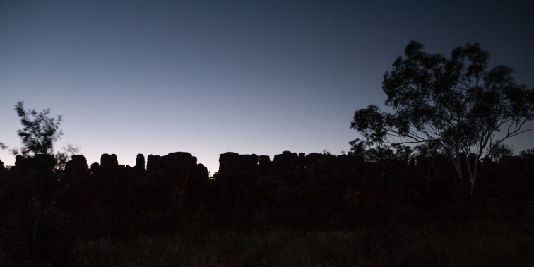 Sunset over the Southern Lost City, Limmen National Park, Northern Territory