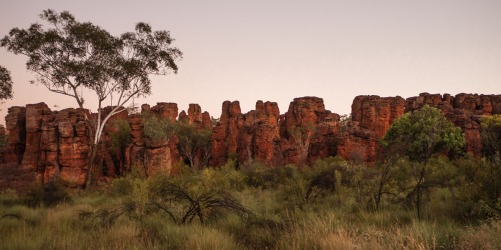 Sunrise over the Southern Lost City, Limmen National Park, Northern Territory