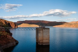 Water Level Tower, Lake Argyle, Western Australia
