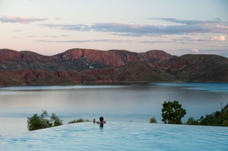 Infinity Pool overlooking Lake Argyle, Western Australia