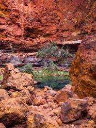 Circular Pool, Dales Gorge, Karijini National Park, Western Australia