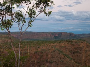 View from Saddleback Lookout over the Cockburn Ranges, El Questro Station, Kimberleys, Western Australia