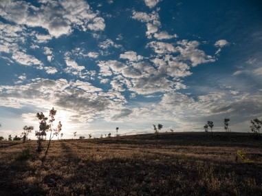 Sunset over Home Valley Station, Kimberleys, Western Australia