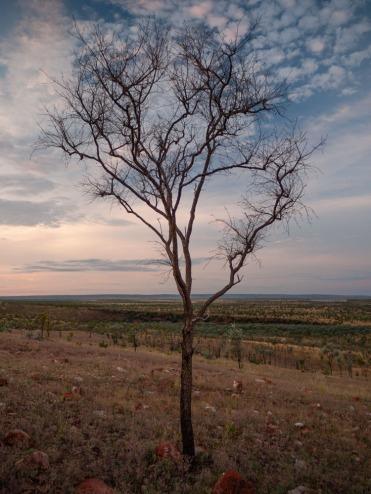 Sunset from Mount Baldy, Home Valley Station, Kimberleys, Western Australia