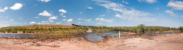 Pentacost River Crossing at the Cockburn Ranges, Kimberleys, Western Australia