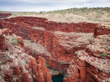 Handcock Gorge from Junction Pool Lookout, Karijini National Park, Western Australia