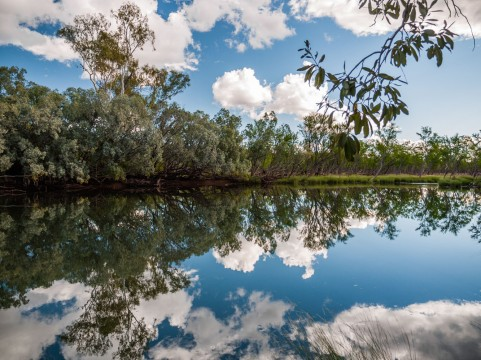 Bluehole, Mornington Sanctuary, Kimberleys, Western Australia