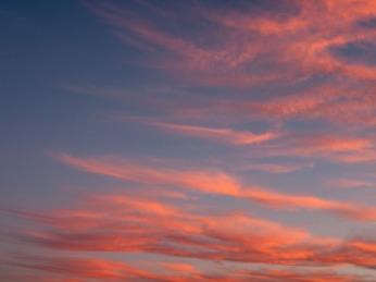 Summer sunset in the Wheatbelt, Western Australia