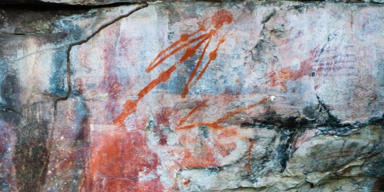 Aboriginal Rock Art at Ubirr, Kakadu National Park, Northern Territory
