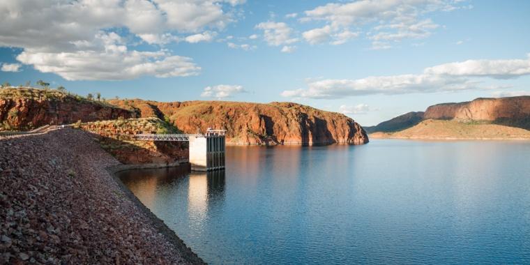 Lake Argyle Dam, Western Australia