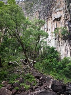 Base of Minyon Falls, Nightcap National Park