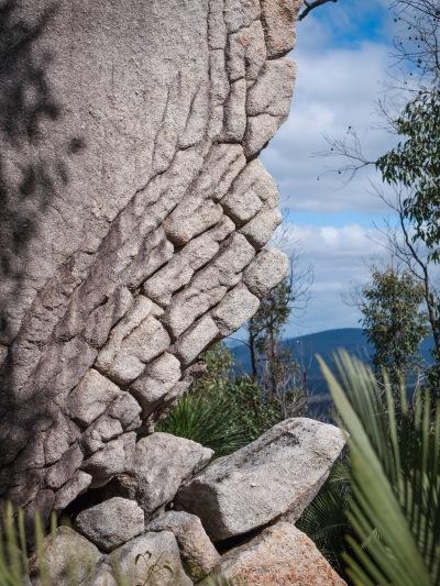 Rugged granite outcrop, Mount Cooke, Monadnocks Conservation Park