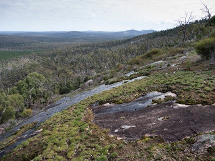 Granite outcrop, Mount Cooke, Monadnocks Conservation Park