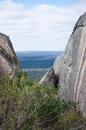 Views to the east from Mount Cooke, Monadnocks Conservation Park