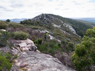 The rugged backbone of Mount Cooke, Monadnocks Conservation Park